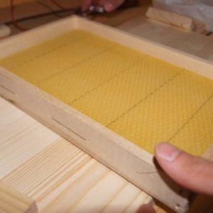 Honigwaben eingelötet